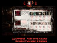 A Nigmare on Elm Street Slots Pay Table