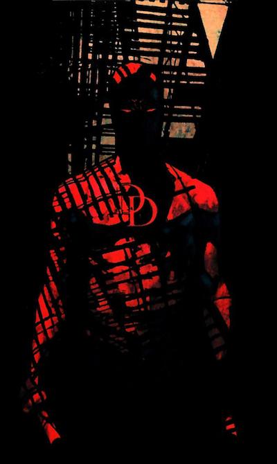 Daredevil Under Fire Escape