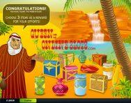 Desert Treasure Slots Bonus Round
