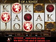 Game of Thrones Slots Five of a Kind