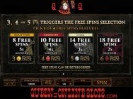 Game of Thrones Slots Free Spins Features