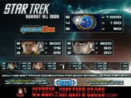 Star Trek Against All Odds Pay Table