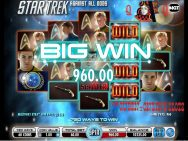 Star Trek Against All Odds Slots Big Win