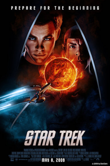 Star Trek Movie Poster 2009