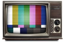 Television with a Test Pattern