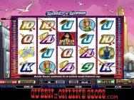 Wonder Woman Slots Screenshot Small Win