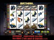 Batman Slots Scatter Symbols