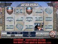 Captain America Slots Symbols