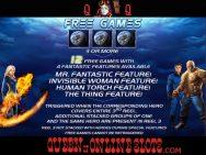 Fantastic Four Slots Free Games