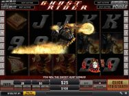 Ghost Rider Slots Ghost Hunt Bonus