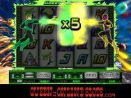 Green Lantern Slots Multiplier Win