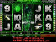Incredible Hulk Slots Expanding Hulk Win