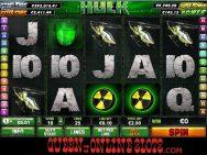 Incredible Hulk Slots Screenshot Reels