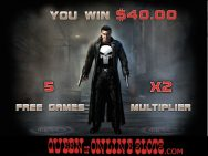 Punisher Slots Bonus Win