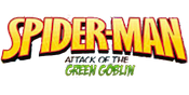 Spidey Green Goblin Slots Logo Large