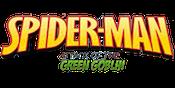 Spidey Green Goblin Slots Logo Large