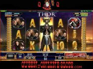 Thor The Mighty Avenger Slots Stacked