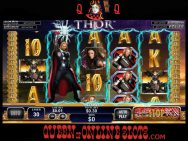 Thor The Mighty Avenger Slots Screenshot Stacked Wilds