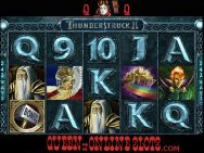 Thunderstruck 2 Slots Screenshot Reels
