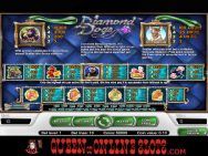 Diamond Dogs Slots Pay Table