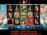 Guns N' Roses Slots Stacked Wild