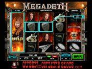 Megadeth Slots Screenshot 7