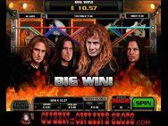 Megadeth Slots Screenshot 8