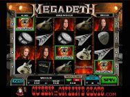 Megadeth Slots Screenshot 9