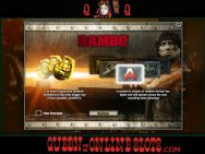 Rambo Slots Screenshot 2