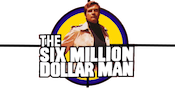 Six Million Dollar Man Slots Large Logo