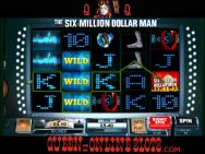 Six Million Dollar Man Slots Screenshot 1
