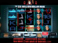 Six Million Dollar Man Slots Screenshot
