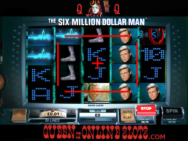 Play The Six Million Dollar Man Slots Online