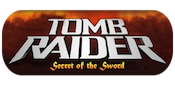 Tomb Raider Secret Sword Slots Large Logo