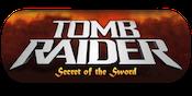 Tomb Raider Secret Sword Slots Large Logo