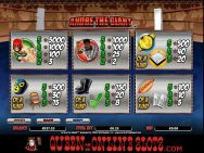 Andre The Giant Slots Pay Table