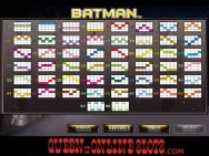 Batman Slots Paylines