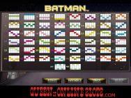 Batman Slots Paylines