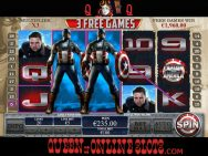 Captain America Slots Free Games