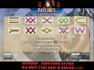 Captain America Slots Paylines