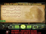 Creature From the Black Lagoon Slots Paylines