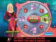 Dolly Parton Slots Bonus Wheel