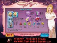 Dolly Parton Slots Pay Table