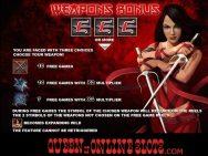 Elektra Slots Screenshot Weapons Bonus