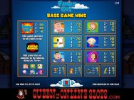 Family Guy Slots Pay Table