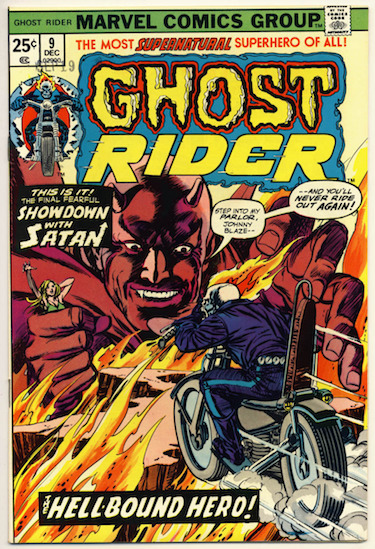 Ghost Rider Showdown with Satan