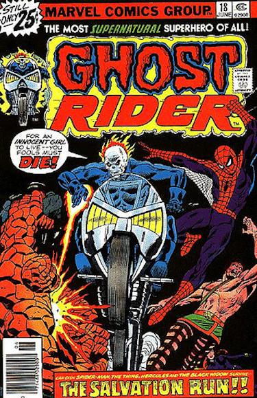Ghost Rider Salvation Run