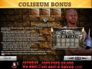 Gladiator Slots Coliseum Bonus
