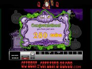 Halloweenies Slots Big Win