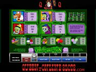 Halloweenies Slots Pay Table